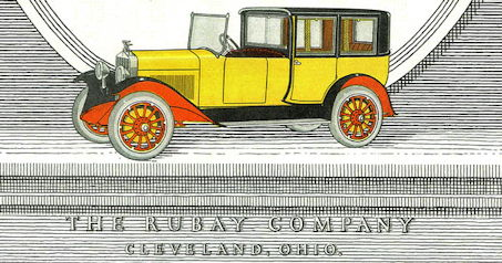 Leon Rubay (Rubay Company)  Automotive manufacturer of Cleveland , Ohio.United States from 1922 to 1924.