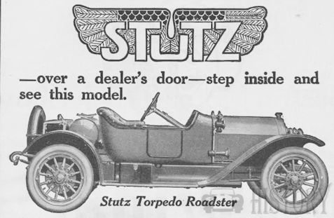 Stutz Motor Car Company of America Automotive manufacturer of Indianapolis , Indiana.United States from 1913 to 1939