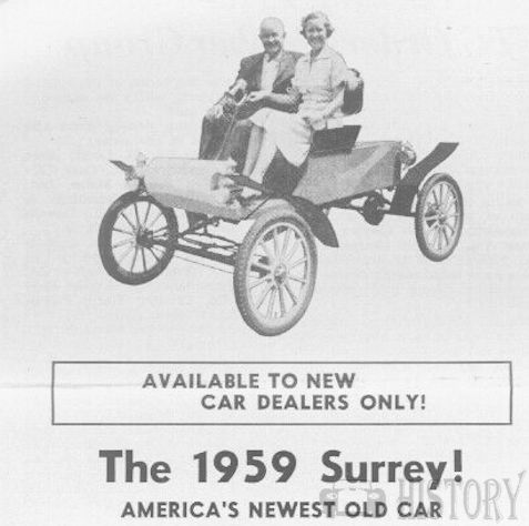 Surrey (EW Bliss Company Dyer Products) Automotive manufacturer of Canton, Ohio.United States from 1958 to 1960.