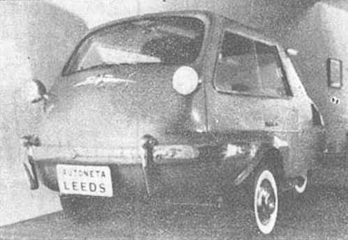 Ipam-Leeds (Industrias Platenses Automotrices)  Automotive manufacturer of Pa Plata.Argentina from 1959 to 1961.