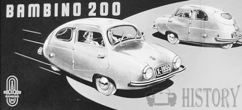 Bambino (NV Alweco)  Automotive manufacturer of Netherlands from 1955 to 1957.