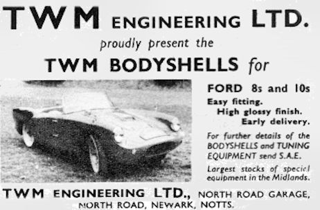 TWM Engineering Company Ltd.  Carmakers manufactured in Newark.Great Britain from 1959 to 1961.