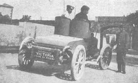 SA Automóviles Victoria  Automotive manufacturer of Barcelona.Spain from 1905 to 1908.