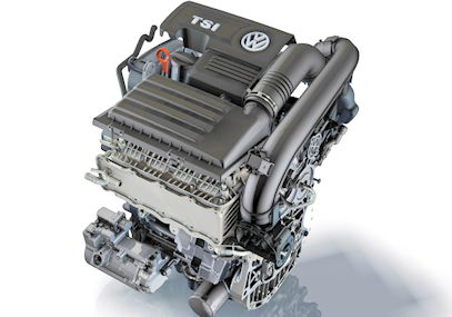 VW Audi EA211 four cylinder engine