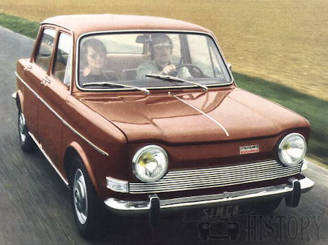 Simca 1000 From 1961 to 1978