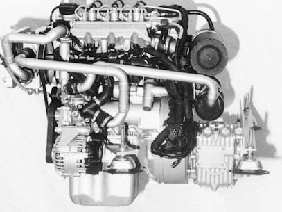 Mercedes-Benz OM 660 three-cylinder diesel engine