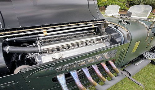 Meteor Bentley: The 27-litre V12 engine