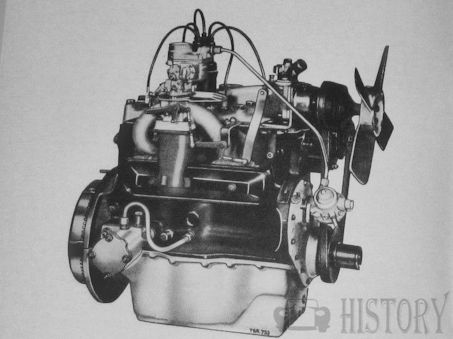 Mercedes-Benz M 136 petrol engine