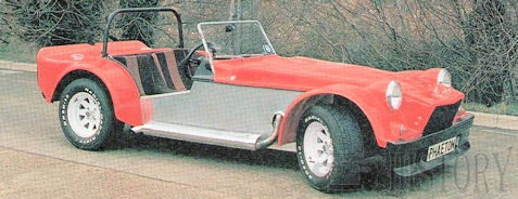 Dutton Phaeton Kit car