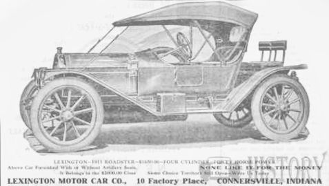 Automotive manufacturer of Connersville, Indiana.United States from 1910 to 1927.