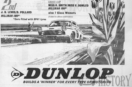 Dunlop advertising from the 1960s