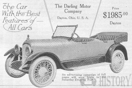 Automotive manufacturer of Dayton , Ohio.United States from 1916 to 1917.