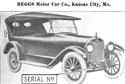 Automotive manufacturer of Kansas City , Missouri,United States from 1919 to 1923.