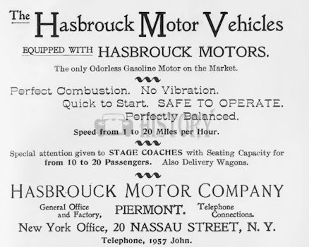 Automotive manufacturer of Piermont, New York; United States from 1899 to 1906.