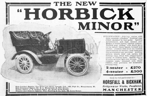 Car manufacturer of Manchester.Great Britain from 1902 to 1909.