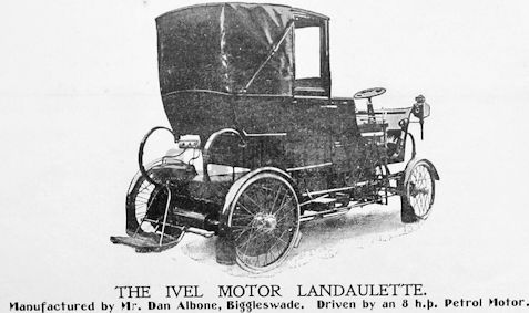 Car manufacturer of Biggleswade Bedfordshire.Great Britain from 1899 to 1906.