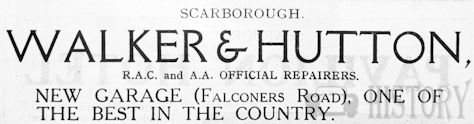 Automotive manufacturer of Scarborough.Great Britain from 1902.