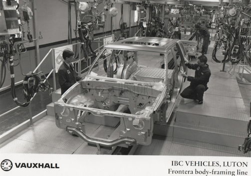 Vauxhall Automotive manufacturer of Great Britain from 1987 to 2000