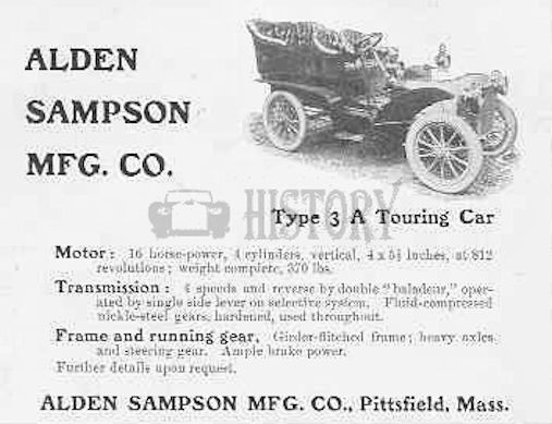 Automotive manufacturer of Pittsfield , Massachusetts.United States from 1904 to 1911.