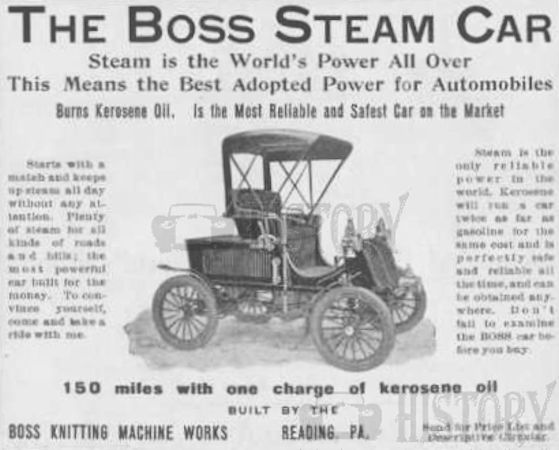 Automotive manufacturer of Reading , Pennsylvania .United States from 1904 to 1909.