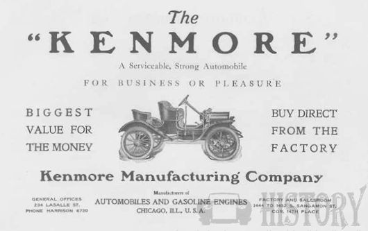 manufacturer of Chicago , Illinois.United States from 1910 to 1912.