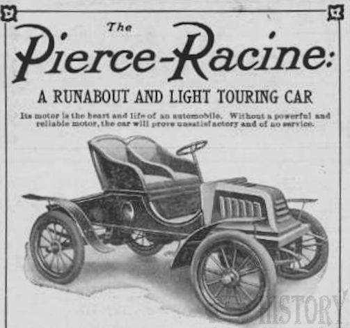 Automotive manufacturer of Racine Wisconsin United States from 1904 to 1911.
