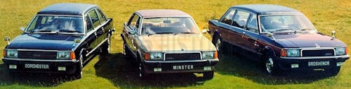 1977 Range the Dorchester Minister and Grosvenor