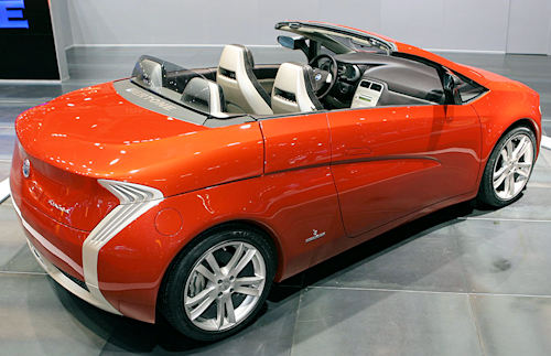 Bertone Suagnà Concept car inside view from 2007
