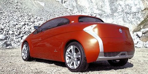 Bertone Suagnà Concept car rear view from 2007