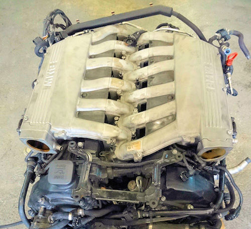 BMW N73 V12 Engine  From 2003 to 2008
