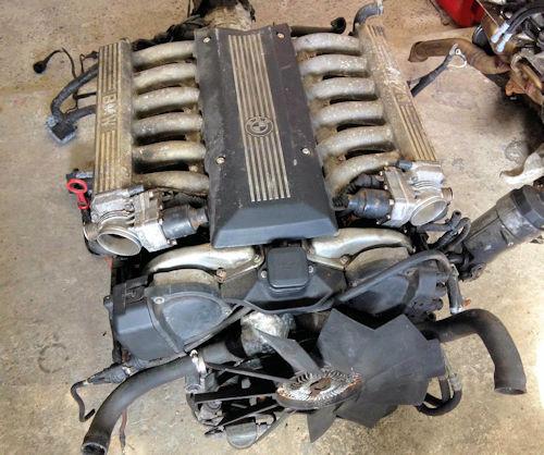 BMW M70 V12 Engine (1987-1996