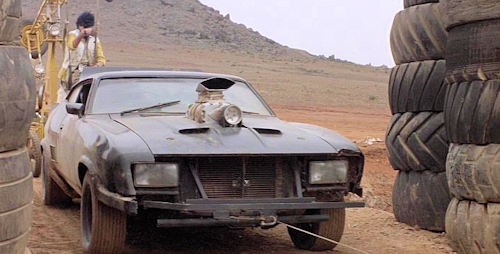 Mad Max 2 The Road Warrior car
