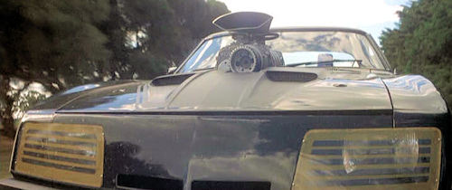 Mad Max Pursuit Special Car front view