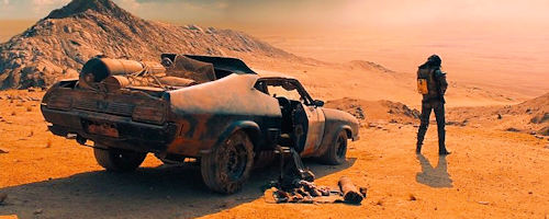 Mad Max: Fury Road car rear view