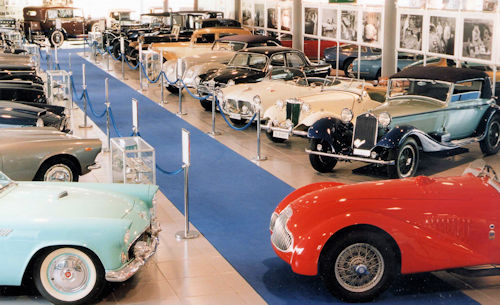 Motor car and Transport museums In Italy