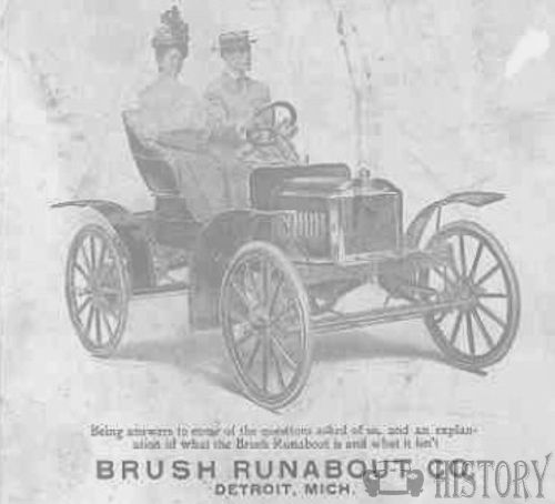 Brush Motor Car Company   American Automotive manufacturer Detroit, Michigan, United States from 1907 to 1913