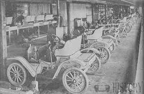 1910 Brush Runabout Factory