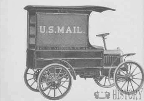 1910 US Mail Brush Runabout truck