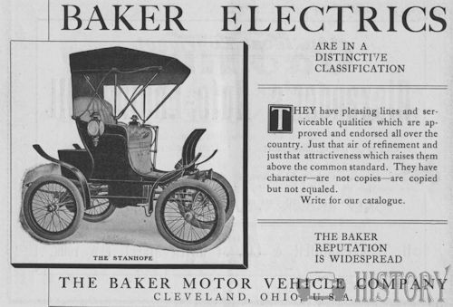 Baker Motor Vehicle Company   American Automotive manufacturer Cleveland, Ohio.United States from 1903