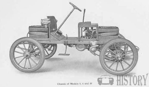 1906 Babcock Electric Car chassis