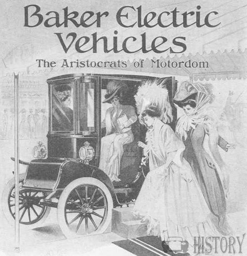 Baker Motor Vehicle Company   American Automotive manufacturer Cleveland, Ohio.United States from 1899 to 1914