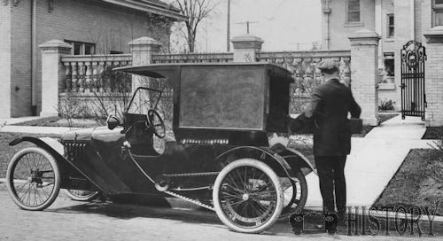 Mercury Cycle Car VAN From 1914 DETROIT