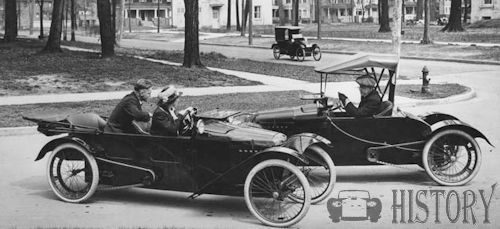 Mercury Cycle Cars From 1914 USA