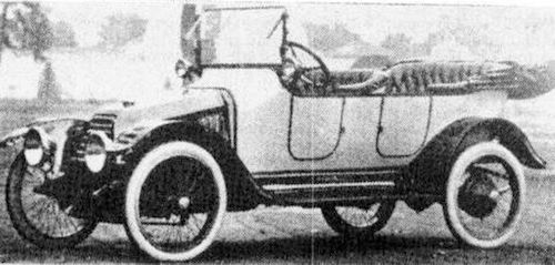 Usa monarch 1914 1917 for Motor manufacturers in usa