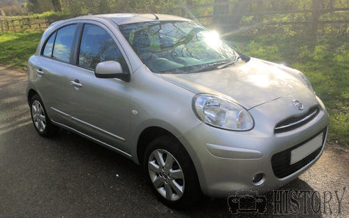 Nissan Micra Fourth generation K13