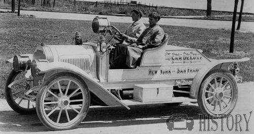 1907 De Luxe Motor Car Detroit
