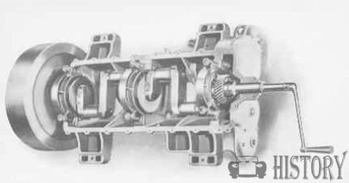 Detroit, Michigan, car engine 1907