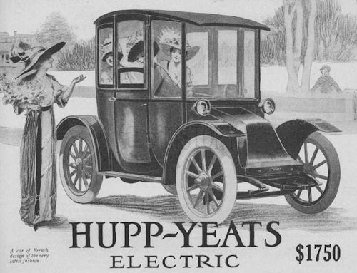 Hupp-Yeats   American Automotive manufacturer Detroit, Michigan. USA From 1911 to 1916