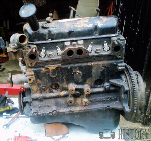 Ford Engines Ford Kent Crossflow Engine 1959 84