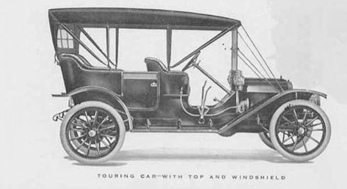 Everitt 1910 touring car